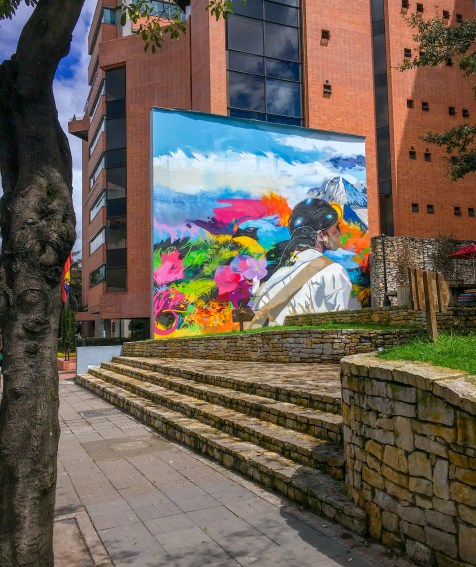 Bogota street mural
