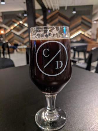 a beer from Canon & Draw