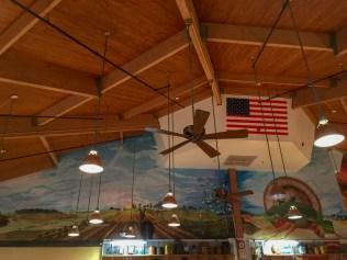 mural at the Farmers Market Restaurant