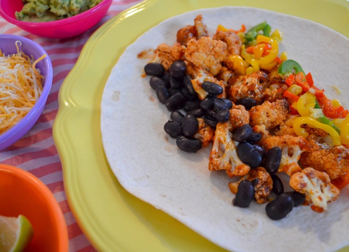 scrumptious healthy burrito