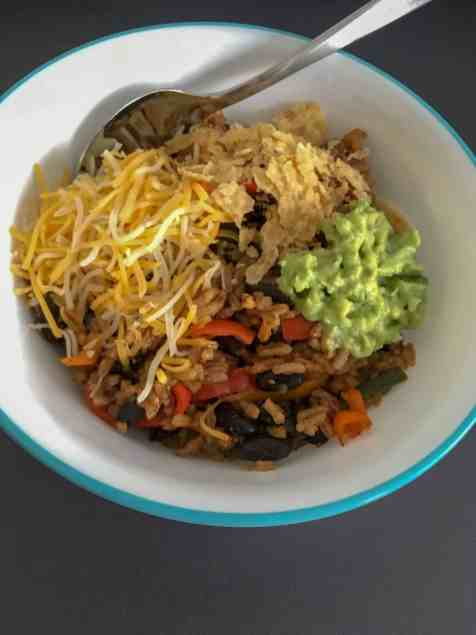 black beans and rice make a delicious weeknight meal