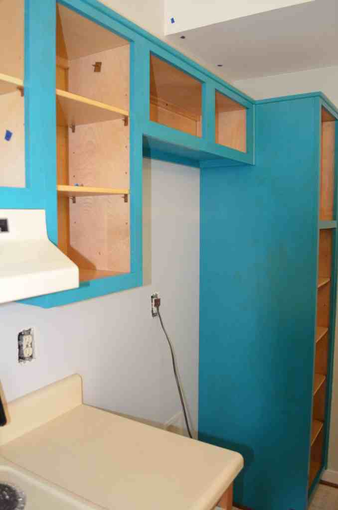 using the right paint ensures you only have to paint kitchen cabinets once