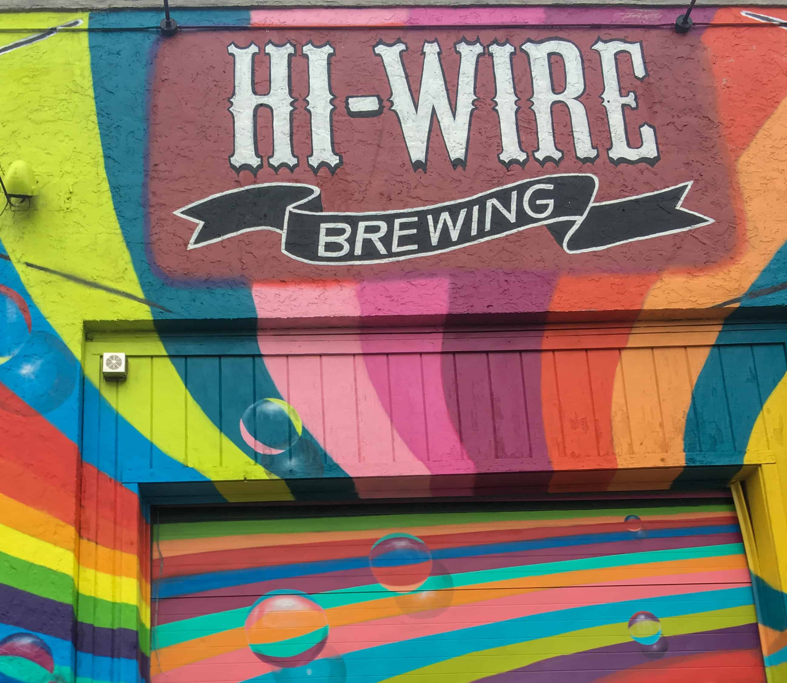 Hi-Wire Brewing in Asheville