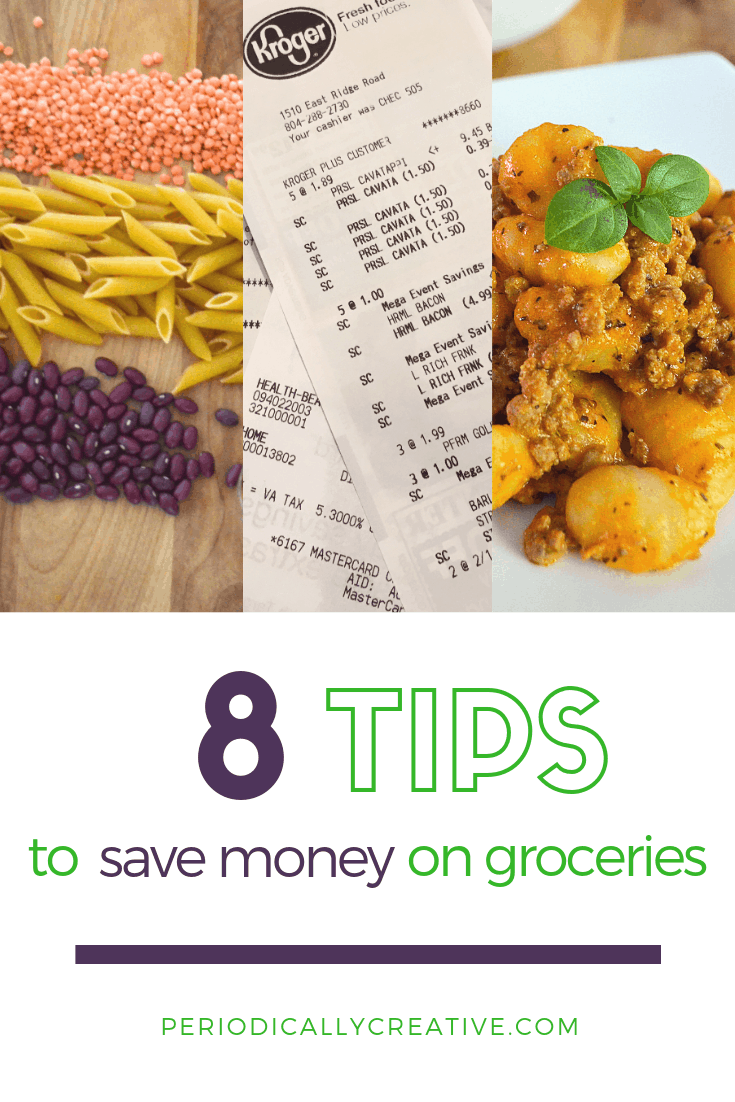 Saving money on groceries doesn't have to be hard. Drive your bill down with these 8 tips. None of them are coupons!