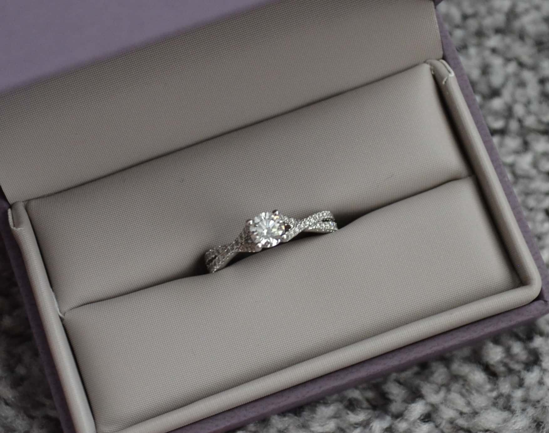 Knowing how you will store your engagement ring while not wearing it is a very important part of ensuring it's always taken care of.