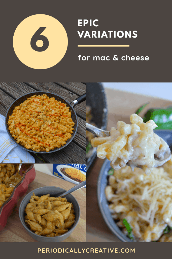 6 Epic Variations for mac & cheese that are sure to be crowd pleasers