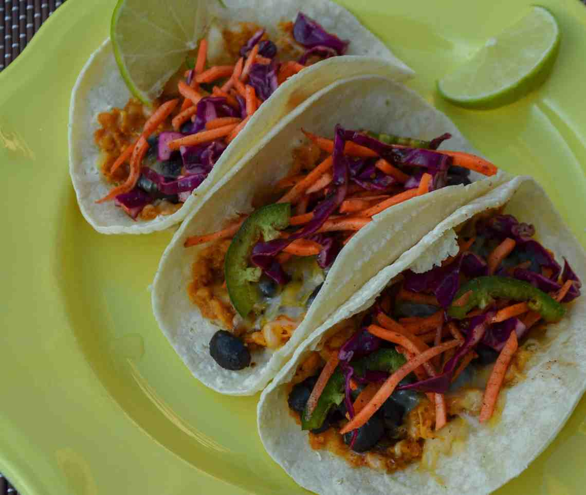 Light and flavorful tacos make for an easy weeknight meal.