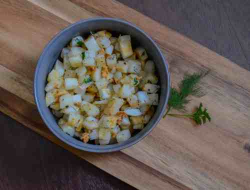 easy, fast skillet potatoes