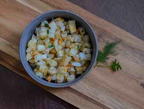 easy, fast skillet potatoes