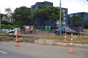 La Secretaría de Infraestructura de la Gobernación tiene planeado que las obras sean entregadas para mayo de este año. /FOTO KEVIN PEDRAZA