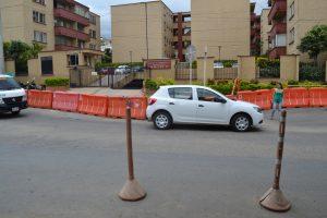 En la actualidad los habitatntes del Diamante II no tienen un separador o puente peatonal. /FOTO KEVIN PEDRAZA