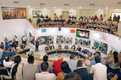 El miércoles 22 de marzo se dieron cita en el Concejo de Bucaramanga. /CATALINA SERRANO