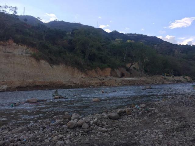 Obra para la planta de aguas residuales del Empas. FOTO ANGÉLICA GÓMEZ