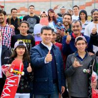 En...Marcha Zacatecas Skatepark