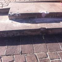 """Atracciones ROCA """"le entrará"""" a reparar daños en Plaza de Armas, luego de subir pesada Unidad"""