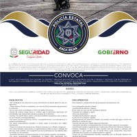 Invita gobierno estatal a formar parte de la Policía Estatal Preventiva