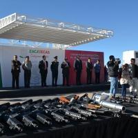 Pa´ tras 363 armas de fuego y más de 10 mil Cartuchos
