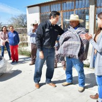 Julio abriga a comunidades Rurales de Guadalupe