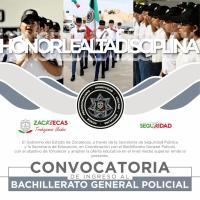 """""""Llégale"""" a formar parte de la 2a. Generación del Bachillerato GENERAL POLICIAL"""