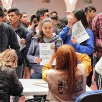 Arranca entrega de becas Benito Juárez a 57 mil estudiantes de Bachillerato: Delegada