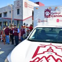 Estrenan Unidad de Control Animal y entrega equipo operativo, Julio César Chávez