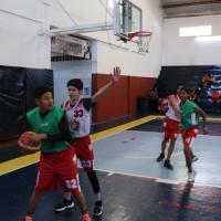 En Fresnillo se prioriza el Deporte, basquet 3X3 ejemplo