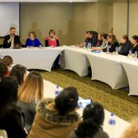 Refrendan compromiso autoridad estatal y Federación para fortalecer acciones a favor de las Mujeres