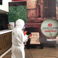 Instalaciones del Hotel Parador reciben Sanitización