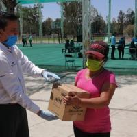 Realizan 13a. entrega de Despensas a familias Villanovenses