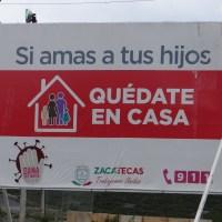 Zacatecas totaliza 301 muertos por CORONAVIRUS
