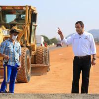 """""""Ay la lleva"""" la autopista Zacatecas-Aguas; Tello va por Mayor Conectividad al estado"""