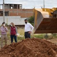 Constata Julio inicio de edificación del 1er. Banco del Bienestar en Guadalupe