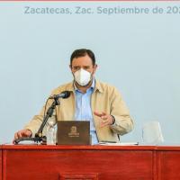 Vuelven 58 Municipios de Zacatecas a Color Naranja en Semáforo Epidémico