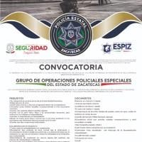 SSP lanza convocatoria para unirse a Grupo de Operaciones Policiales Especiales