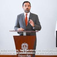 Referente nacional Zacatecas en Inclusión: mandatario