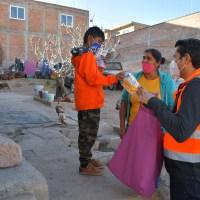 Las Brigadas Navideñas llegaron ya con toda la Solidaridad de Julio César Chávez