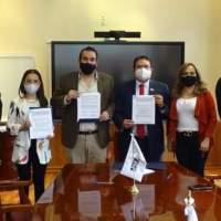 Acuerdan SAMA y Unidad Académica de Historia convenio a favor del Medio Ambiente