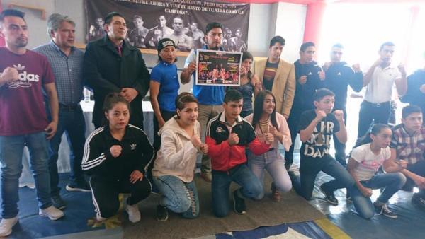Invitan a función de box en el pueblo del Rosario