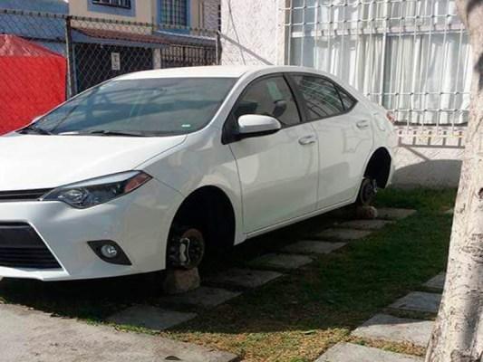 Sufren robo de autopartes vecinos de Cofradía IV