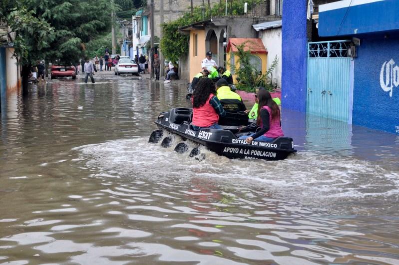 Prevén zonas de riesgo ante el inicio de la temporada de lluvias
