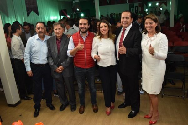 Presentaron regidores del PRI su informe de Cien Días de Gobierno