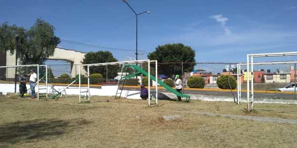 Realizan campaña de limpieza en Ex Hacienda San Miguel