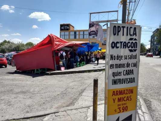 Piden ordenar el comercio ambulante en el municipio