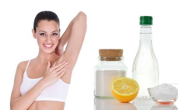 Ingredientes que ayudan a prevenir la sudoración
