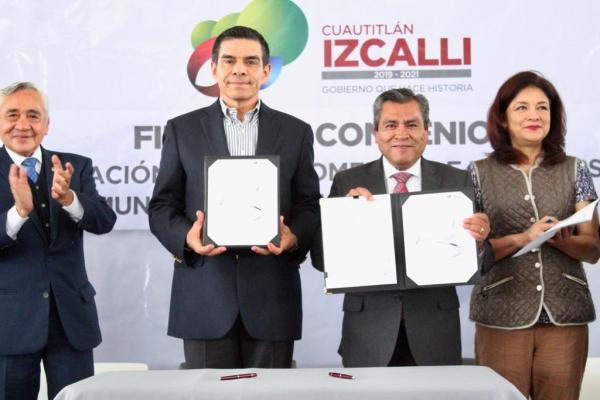 Firma Municipio convenio con el Gobierno del Estado para atraer mayores inversiones