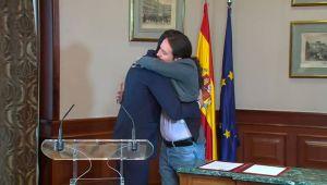 Pacto entre Pedro Sánchez y Pablo Iglesias. La Sexta