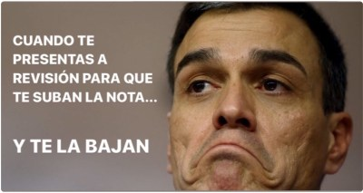 Memes, la original manera que tienen los españoles para quitar hierro a la tensa situación que ha propiciado el panorama político.