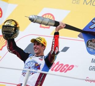 Alex Márquez campeón de Moto2