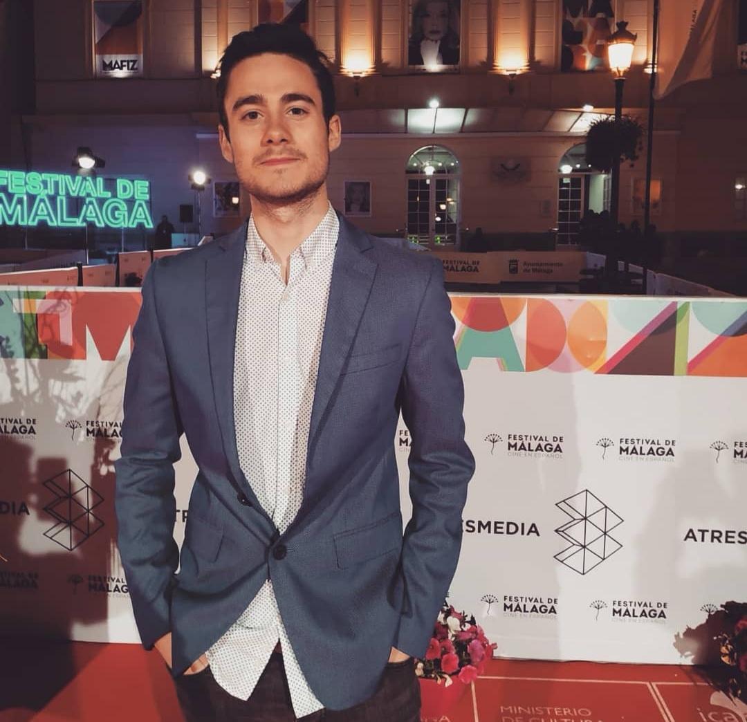 Adrián Campos en el Festival de Málaga