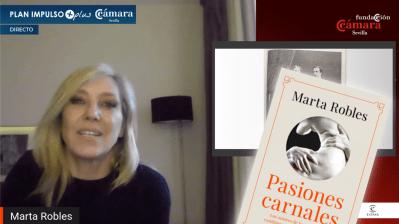 """Presentación digital del libro """"Pasiones carnales"""" de Marta Robles"""